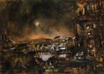 Живопись | Жорж Руо | Night Landscape, 1897