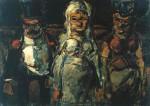 Живопись | Жорж Руо | The Bride, 1907