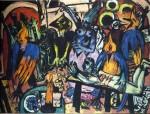 Живопись | Макс Бекман | Bird's Hell, 1938