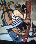 Живопись | Макс Бекман | Journey on the fish, 1934
