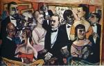 Живопись | Макс Бекман | Party in Paris, 1947