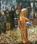 Живопись | Рихард Герстль | Nude in the Garden, 1907