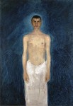 Живопись | Рихард Герстль | Semi-Nude Self-Portrait, 1902-03