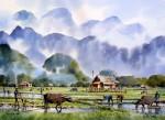 Живопись   Танакорн Чаиджинда