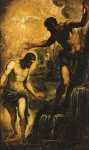 Живопись | Тинторетто | Крещение Христа, около 1580