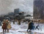 Живопись | Эверетт Шинн | Cooper Square, 1900-08