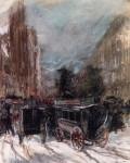 Живопись | Эверетт Шинн | Fifth Avenue, 1899