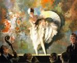 Живопись | Эверетт Шинн | French Vaudeville, 1917