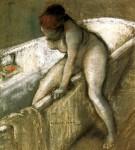 Живопись | Эверетт Шинн | Girl in Bathtub, 1903