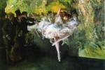 Живопись | Эверетт Шинн | Rehearsal of the Ballet, 1905-06