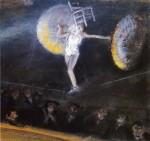 Живопись | Эверетт Шинн | The Tightrope Walker, 1904