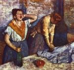 Живопись | Эдгар Дега | Гладильщицы, 1884