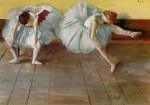 Живопись | Эдгар Дега | Две балерины, около 1879