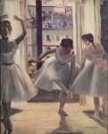 Живопись | Эдгар Дега | Три танцовщицы в репетиционном зале