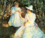 Живопись | Эдмунд Чарльз Тарбелл | Mother and Child in Pine Woods, 1993