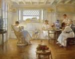 Живопись | Эдмунд Чарльз Тарбелл | My Family, 1914