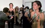 Перфоманс | Марина Абрамович | Ритм 0, 1974