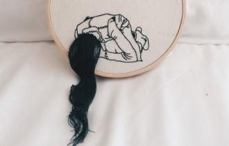 Шина Лиам и её 3D-вышивка