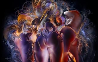 Светографика – искусство из света