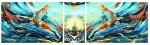 Живопись | AmmirGallery | Триптих «Объединяя миры». Художник Ammir