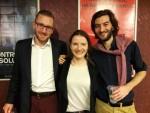 Анимация | С любовью, Винсент! | Robert Gulaczyk - исполнитель роли Ван Гога (слева) и Екатерина Очередько
