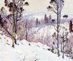 Живопись | Алдро Хиббард | Hillside in Winter