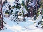 Живопись | Алдро Хиббард | Winter Day