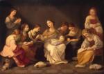 Живопись | Гвидо Рени | Юность Девы Марии