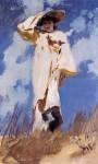 Живопись | Джон Сингер Сарджент | A Gust of Wind, 1886-87
