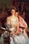 Живопись | Джон Сингер Сарджент | Mrs Fiske Warren (Gretchen Osgood) and her Daughter Rachel, 1903