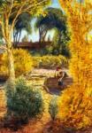 Живопись | Джон Френч Слоун | Fall, Santa Fe, River, 1943