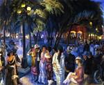 Живопись | Джон Френч Слоун | Music in the Plaza, 1920
