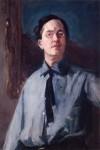Живопись | Джон Френч Слоун | Self-Portrait in Gray Shirt, 1912