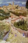 Живопись | Морис Брэзил Прендергаст | Assisi, 1898-99