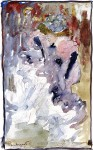 Живопись | Морис Брэзил Прендергаст | Can-Can Dancer, 1893-94
