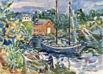 Живопись | Морис Брэзил Прендергаст | The Cove, 1913-15