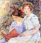 Живопись | Роберт Льюис Рид | Two Women Reading