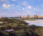 Живопись | Фредерик Базиль | Aigues-Mortes, 1869
