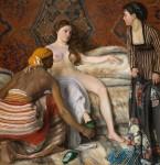 Живопись | Фредерик Базиль | La Toilette, 1869-70