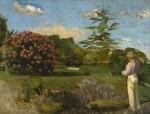 Живопись | Фредерик Базиль | The Little Gardener, 1866-67