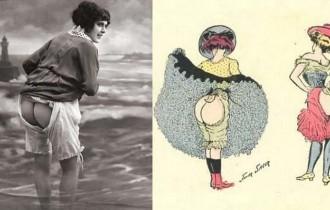 Как менялось нижнее белье в зависимости от образа жизни женщин в разные времена?