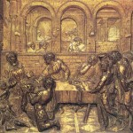 Скульптура | Донателло | Пир Ирода, 1427