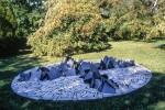 Скульптура | Ричард Лонг | Mont Blanc Circle
