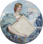 Фреска | Роберт Льюис Рид | Знание, 1896 (Библиотека Конгресса США)