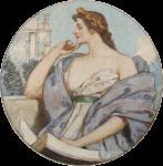 Фреска | Роберт Льюис Рид | Философия, 1896 (Библиотека Конгресса США)