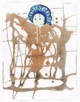 Графика | Майк Келли | Blue Plaid Cap/Brown Plaid Body, 1997