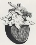 Графика | Майк Келли | Heart with Fancy Hat, 1989