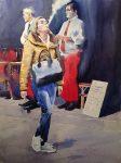 Живопись | Андрей Есионов | Дым в большом городе