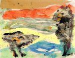 Живопись | Асгер Йорн | Abisola, 1956