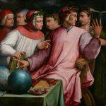 Живопись | Джорджо Вазари | Italian Humanists (Six Tuscan Poets), 1554
